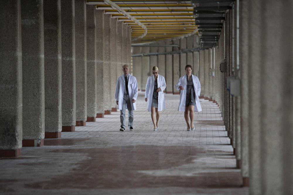 Alice, Bob and Eve at the Tabakfabrik Linz © Magdalena Lepka