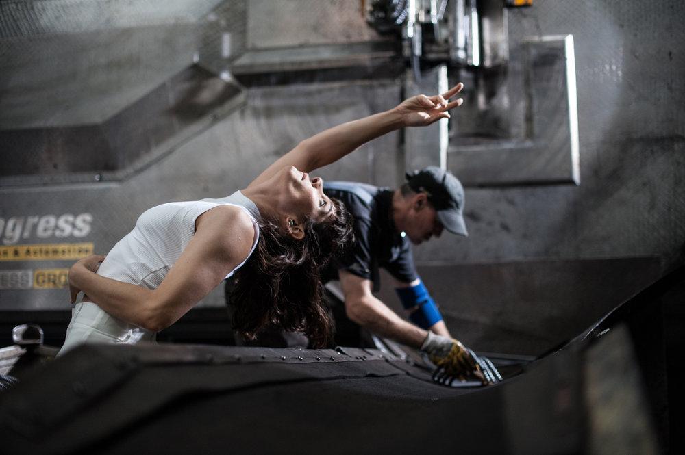 Nefeli Kadinopoulou-Asteriou, worker from the factory © Bernhard Müller
