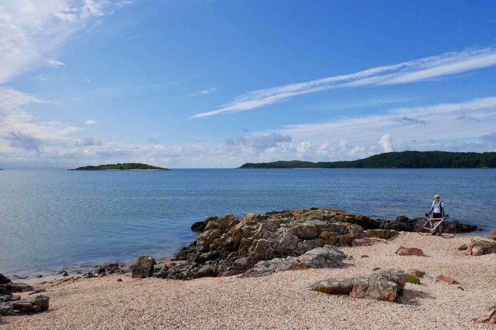 Cockle beach near Kippford