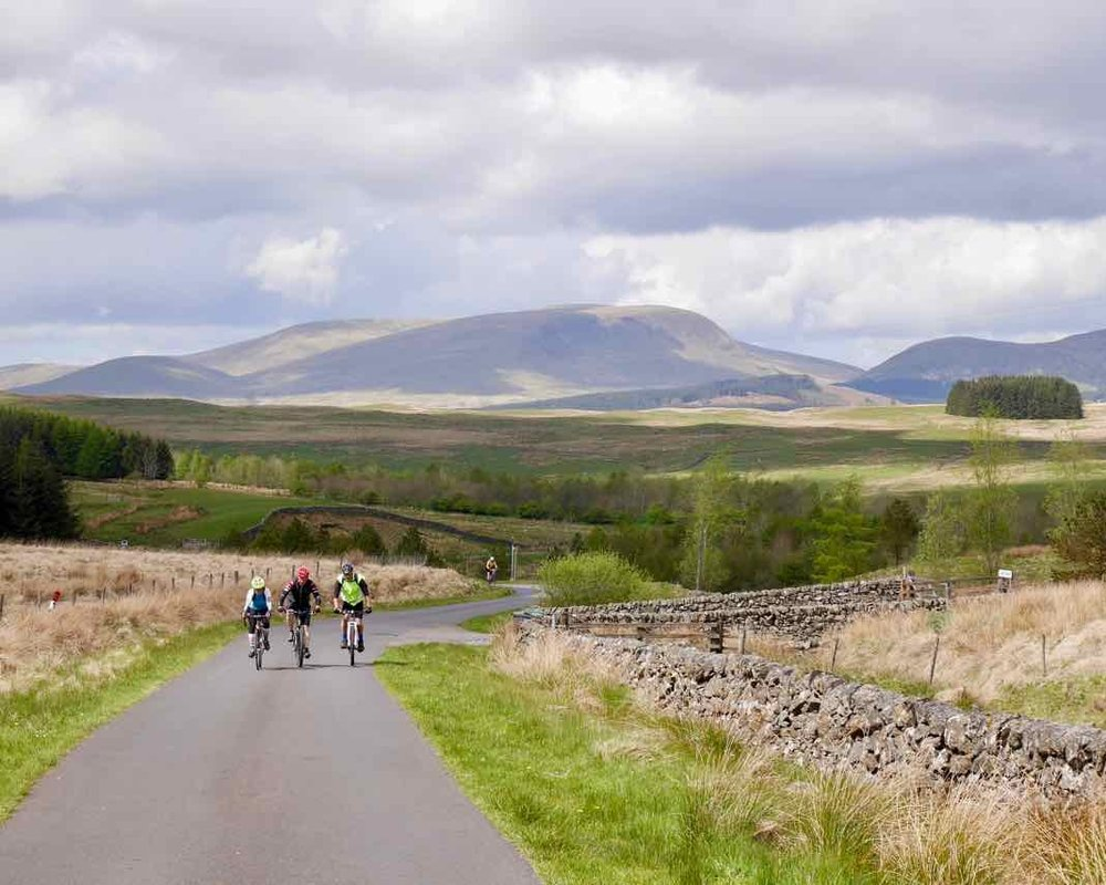 Ride the Uplands -