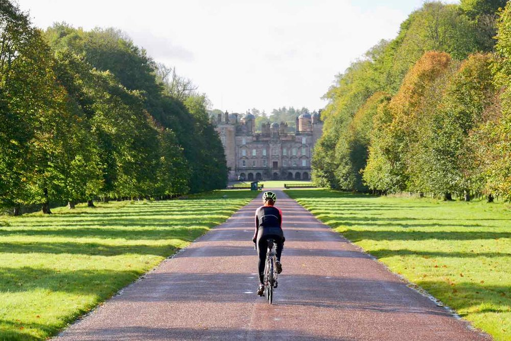 Drive to Drumlanrig Castle