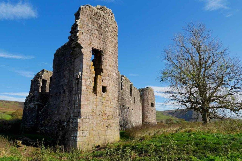 Ruine Morton Castle