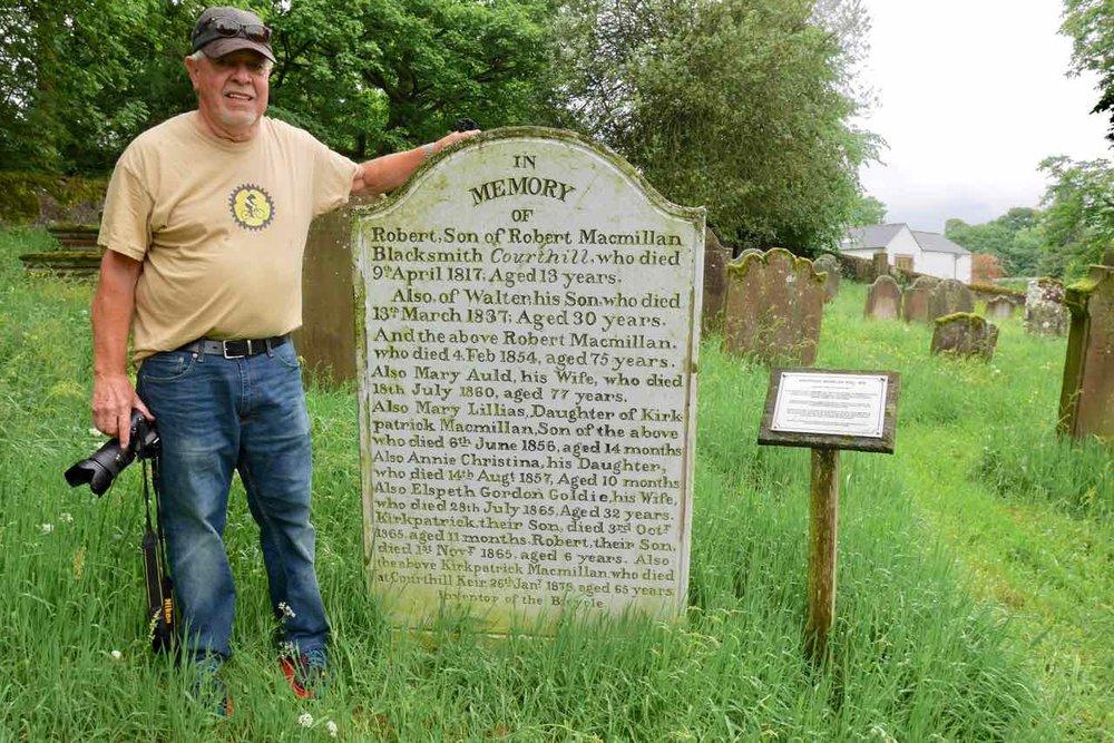 Honoring Kirkpatrick MacMillan, Thornhill