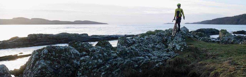 Craggy shores near Kirkcudbright