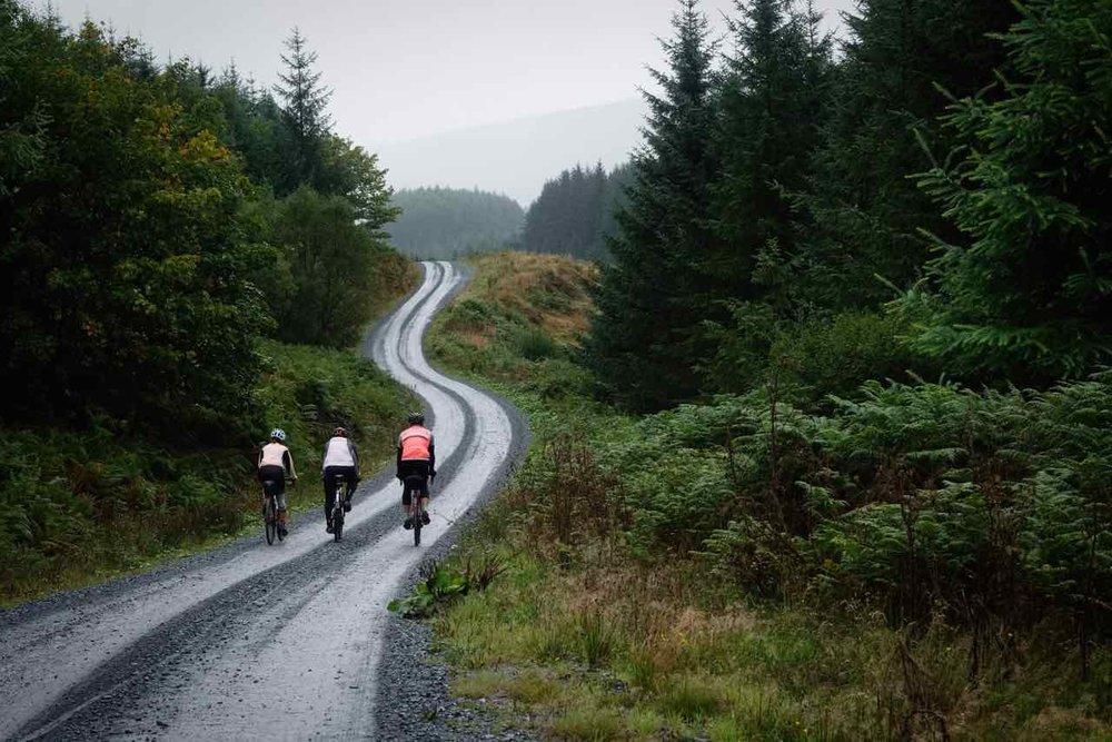 Gravel Biking - Raiders Road