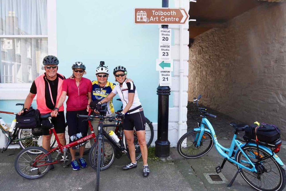 Exploring the venues in Kirkcudbright
