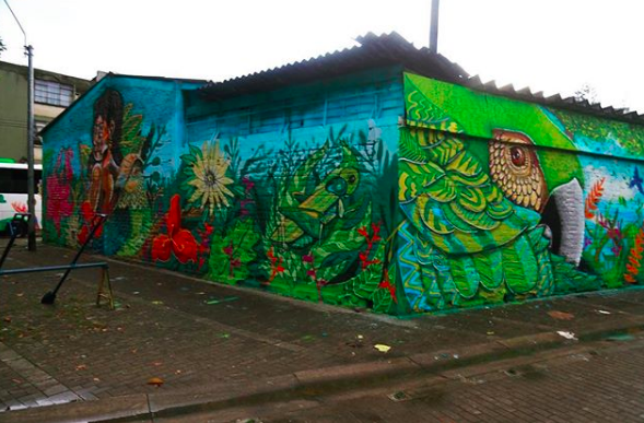 Mundo Letop and Apaz, 2017.  Cali, Colombia.
