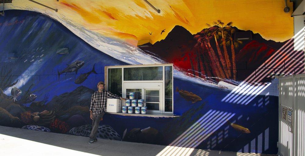 Felipe Ortiz  Commission for the City of Palm Desert, 2018
