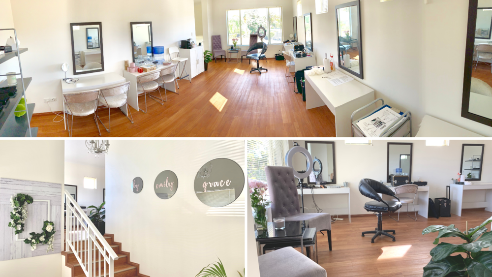Our Glam Studio in Karrinyup.
