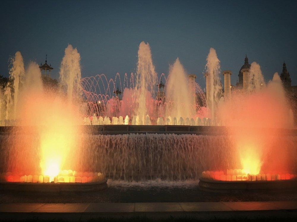 Lights Night Barcelona Magic Fountain.JPG