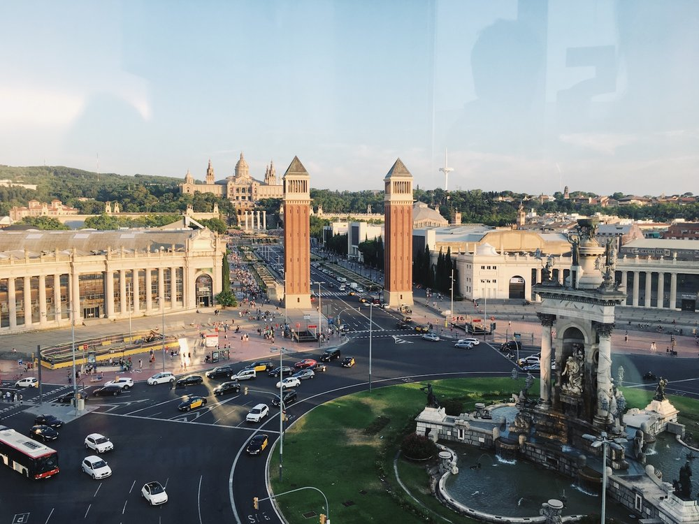 Las Arenas Elevator Barcelona Spain.JPG
