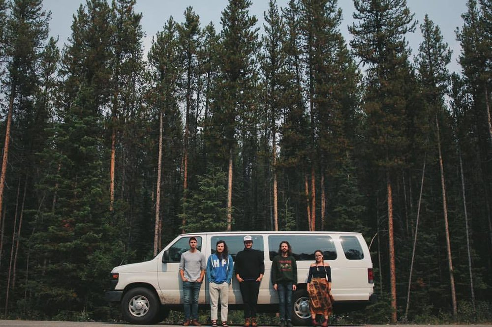 14. - I spent 1/3 of my year living in this van, with these boys.This photo was taken on our first day in B.C. We hadn't seen a shower for over a week at this point.