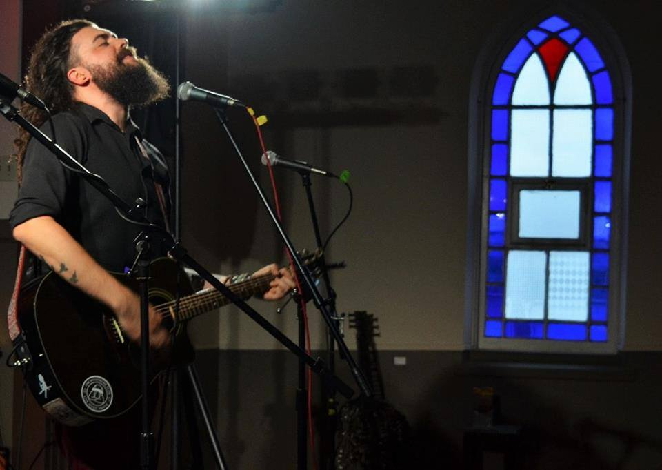 15. - I also played 10 shows with Rory Taillon across Ontario.This photo is of the concert we played together at Batstone's Northern Ramble- a converted church in Renfrew, ON.