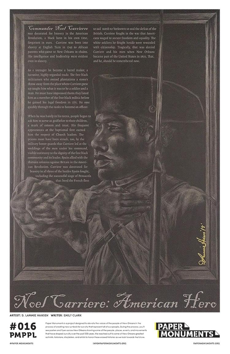 Pmppl 016 Noel Carriere American Hero Paper Monuments