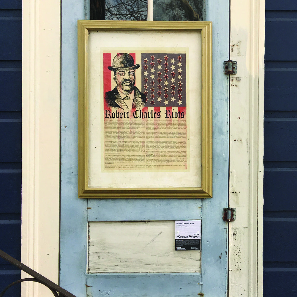 Robert Charles Riots, 1460 N Robertson St.   Click here to view this poster online