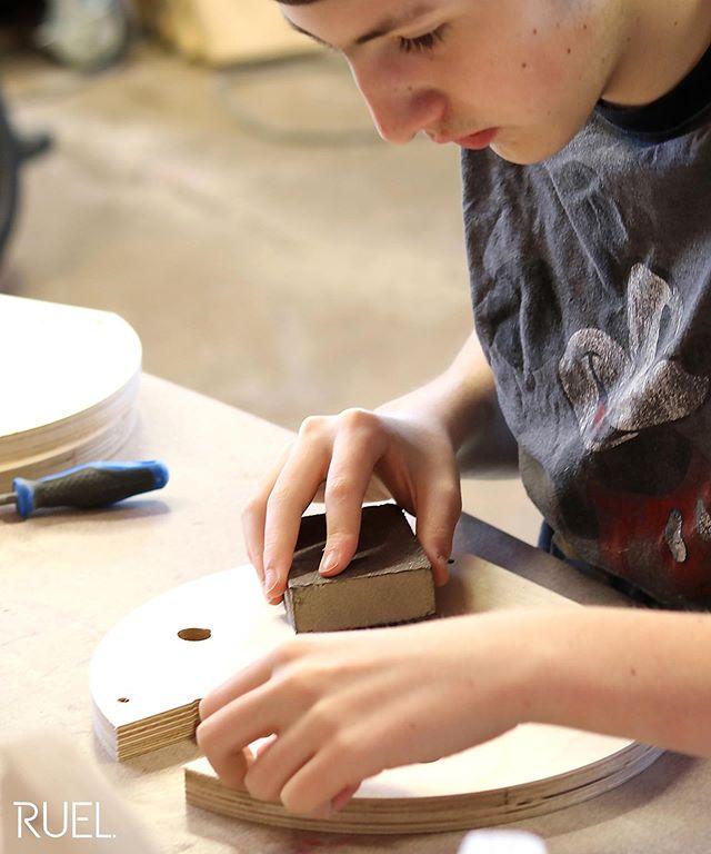 Some delicate tasks, done by our young apprentice, Max RUEL.  www.ruelaudio.com  #ruel #ruelaudio #ruelfamily #familybusiness #breaktherule