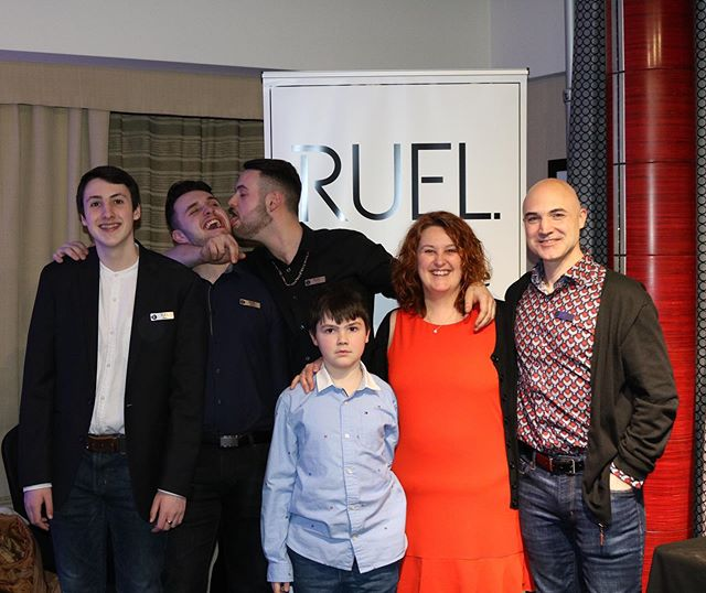 The RUEL family is thanking all of you for the great time we had at the Montreal Audio Fest 2019!  #ruel #ruelaudio #ruelfamily #breaktherule #passion #musiclove