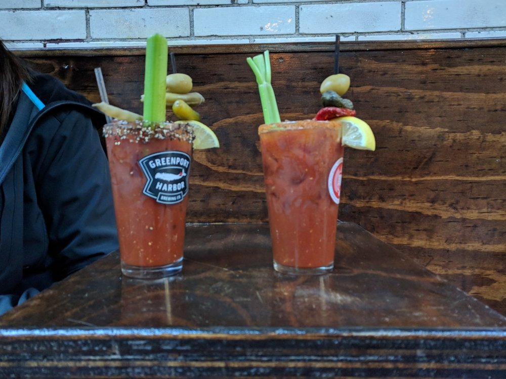 Precious Metals serves some of the most flavorful bloody mary's I've ever had (and all BMs are entirely vegan, b t w)  I'll tell you about it because I am only there once or twice a year…