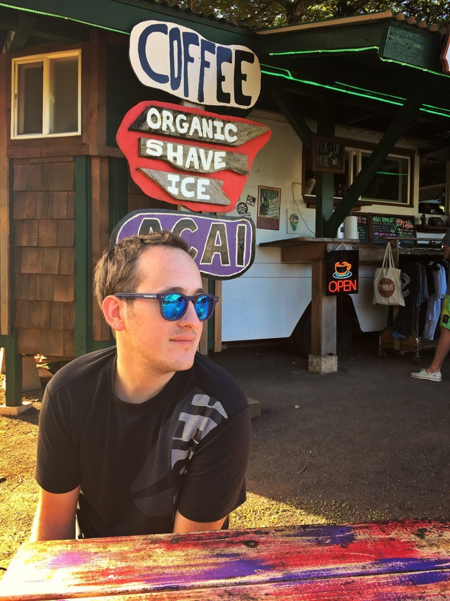 Taken in Kauai at Wailua Shaved Ice