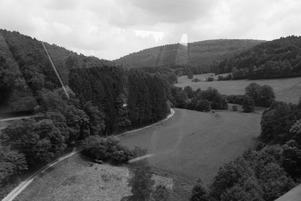 Blick vom Himbächel-Viadukt