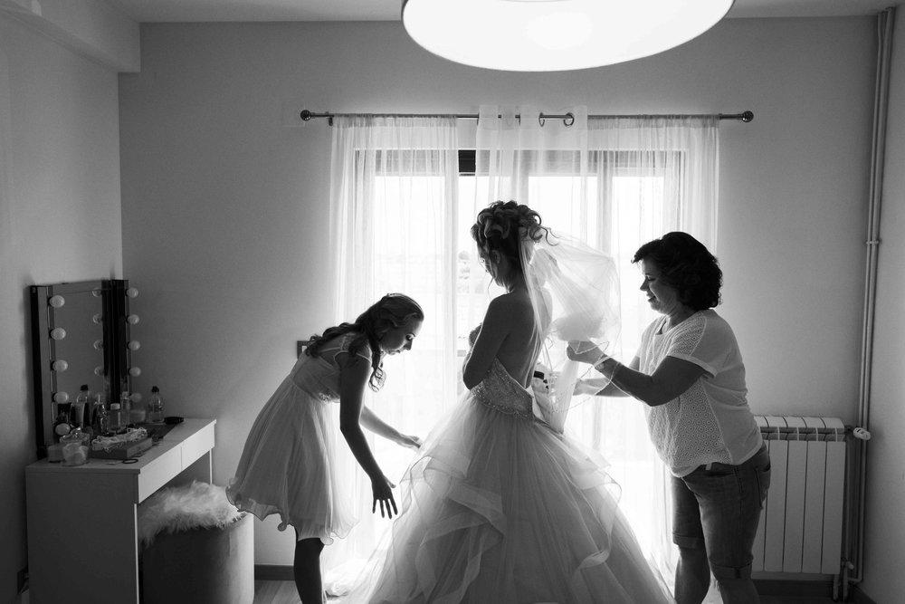 madrinha e noiva