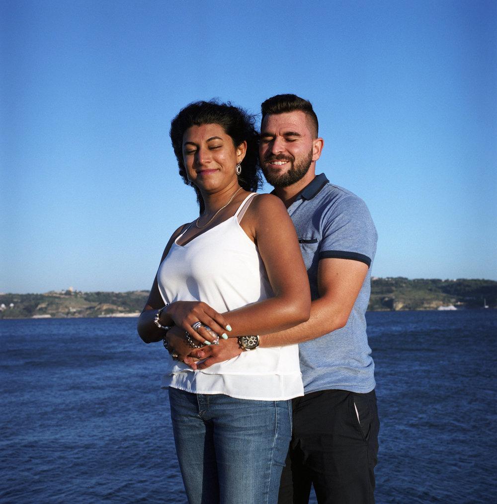 Iolanda & Daniel Engagement  praia