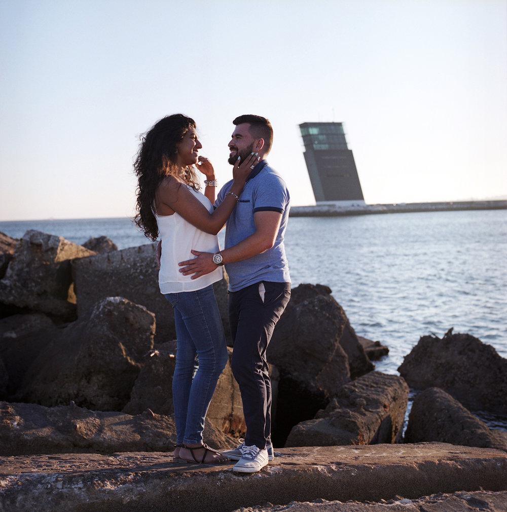 Iolanda & Daniel Engagement  beira mar