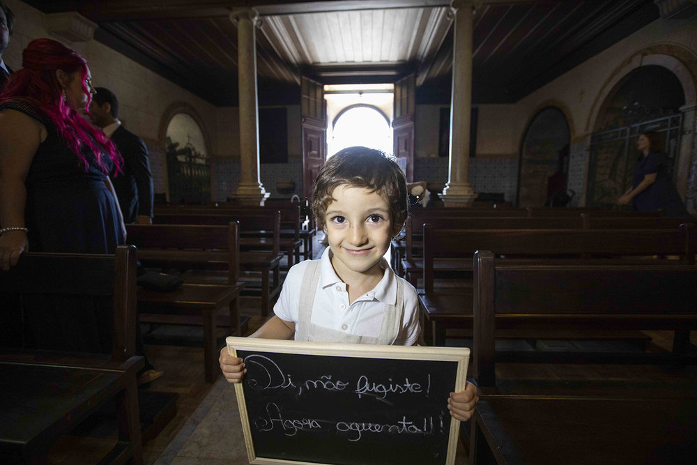 kid in church