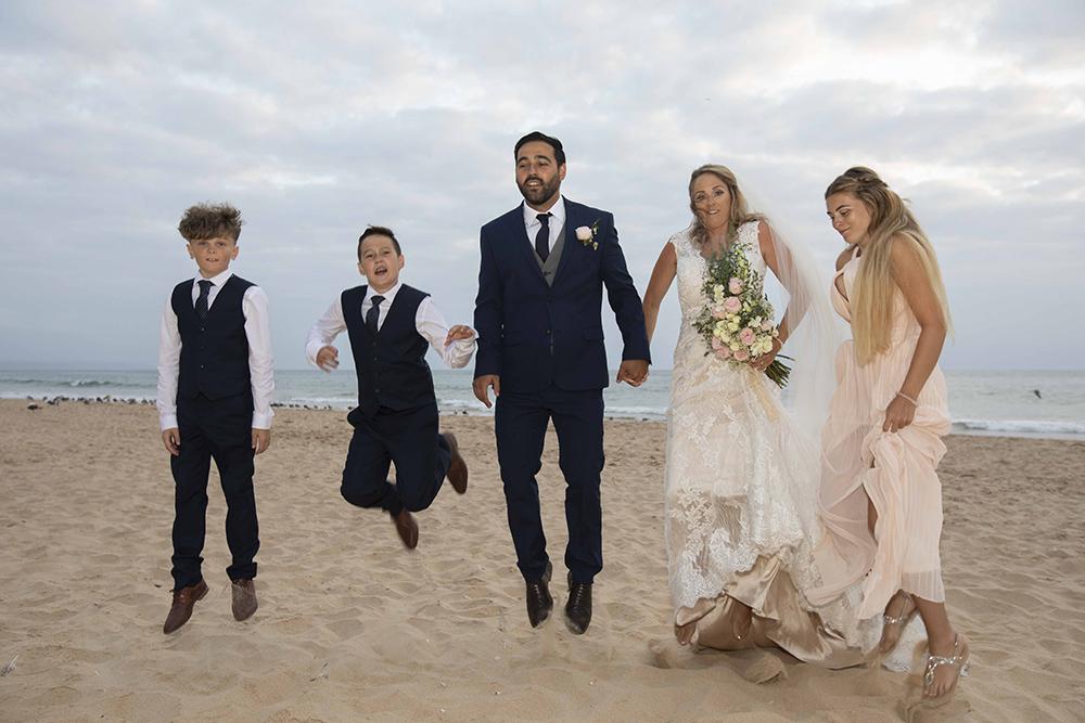 jump wedding