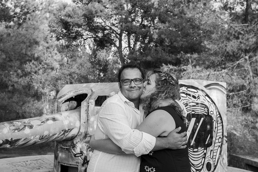 noivos em Almada