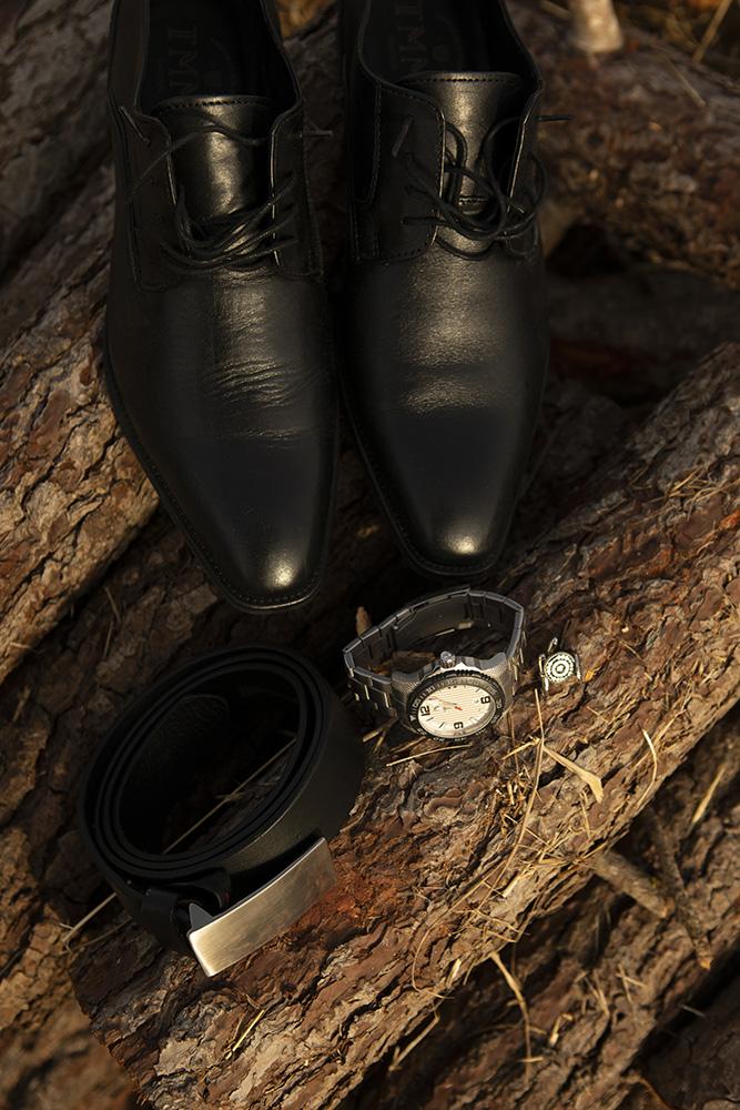 Sapatos do noivo