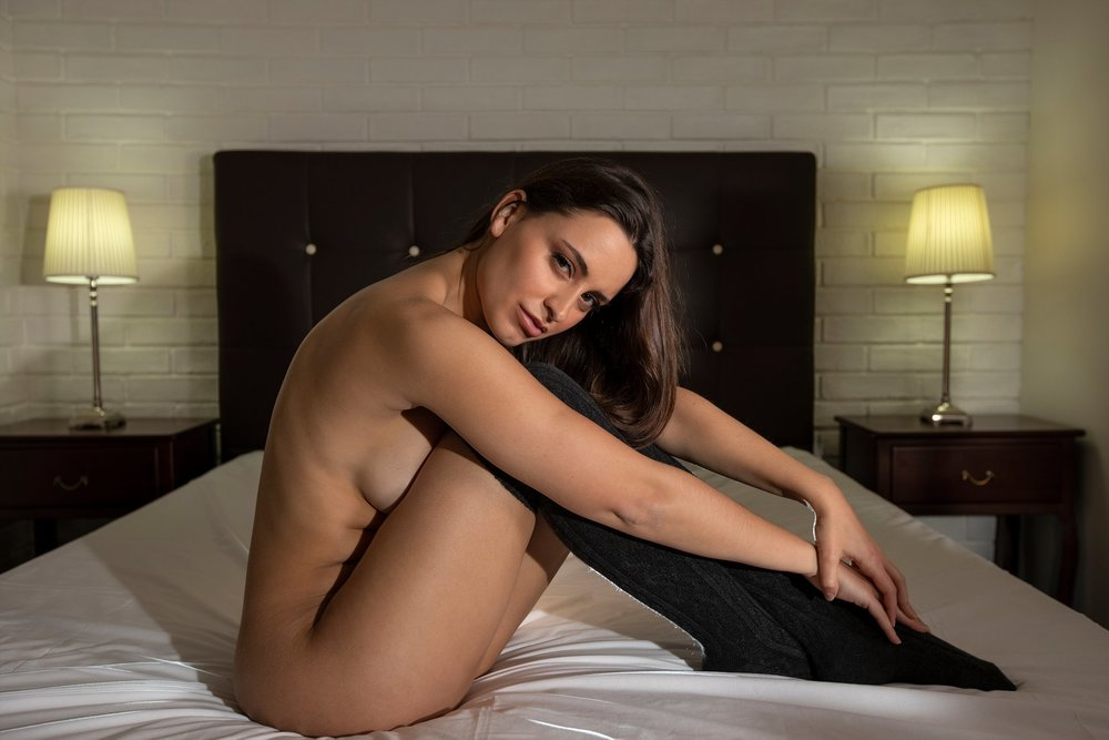 Marie Session boudoir