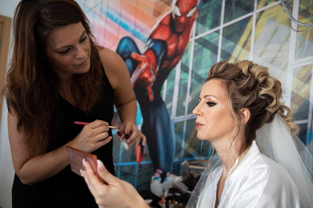 make up noiva