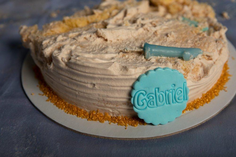 Smash the cake na sua casa