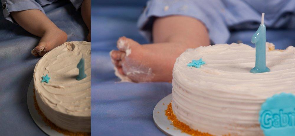 Smash the cake na margem sul