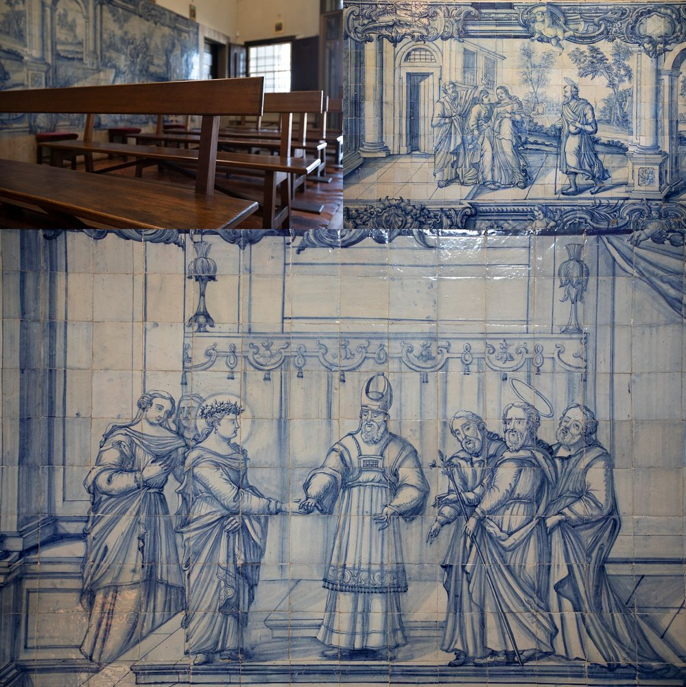 Igreja Matriz da Atalaia Azulejos