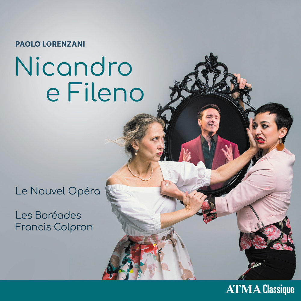 Le Nouvel Opéra  and  Les Boréades de Montréal  have assembled an exceptional group of artists for the first-ever recording of  Nicandro e Fileno , a pastoral opera by Paolo Lorenzani (1640-1713) first performed in 1681 before Louis XIV at the palace of Fontainebleau.  Atma Classique, ACD22770 - October, 2018