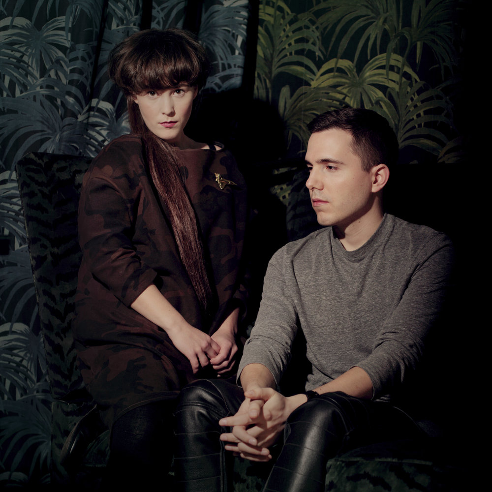 Purity Ring for i-D