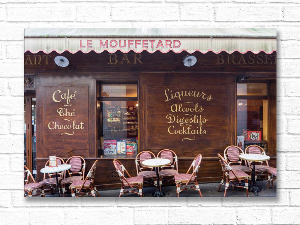 Le Mouffetard, Canvas — Parisian Moments