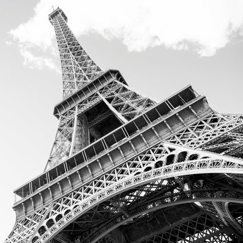 Copy of paris pictures eiffel tower the icon fine art photography print the icon black and white print