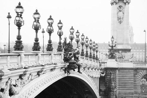 Paris France Home Decor Wall Art Black And White Prints Parisian