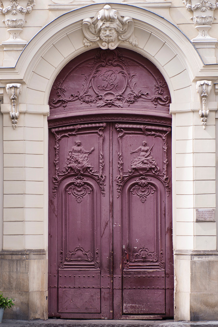Purple Door, Print