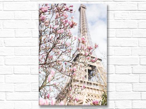 Paris France home decor canvas wall art, pictures of Paris and ...