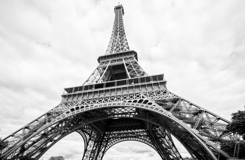 Black And White Pictures Of Paris