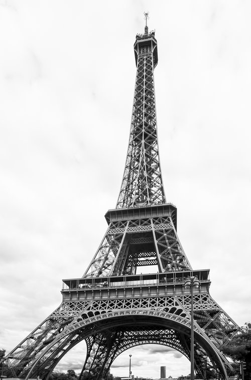 Black And White Pictures Paris