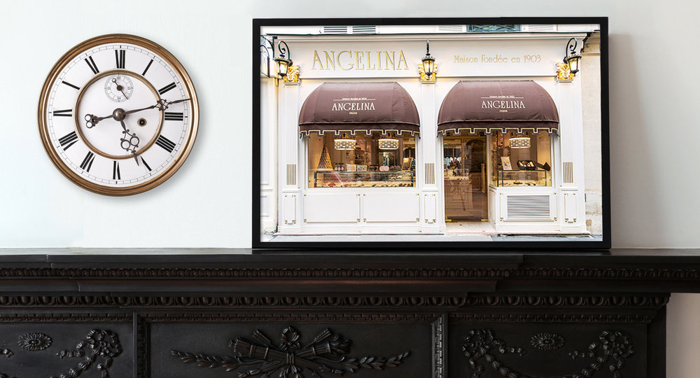 Angelina Patisserie, Paris Pastry Shop