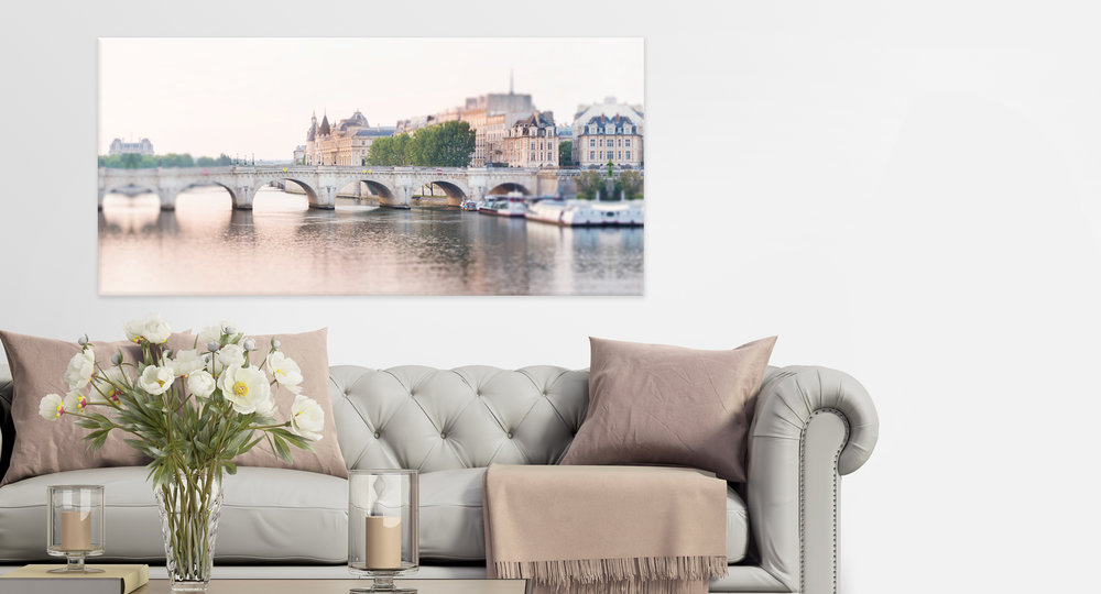 Paris Pont Neuf Dawn Wall Decor