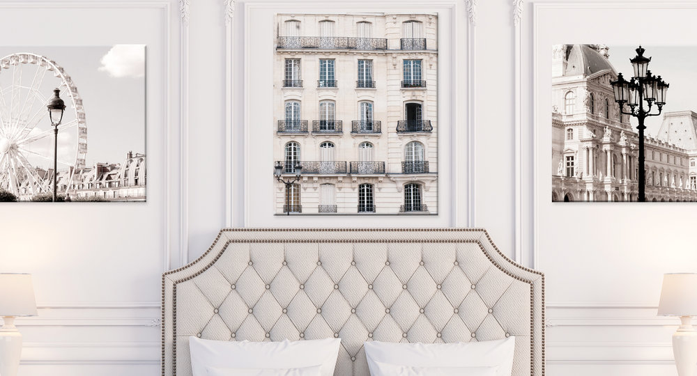 Paris Canvas Wall Art Collection
