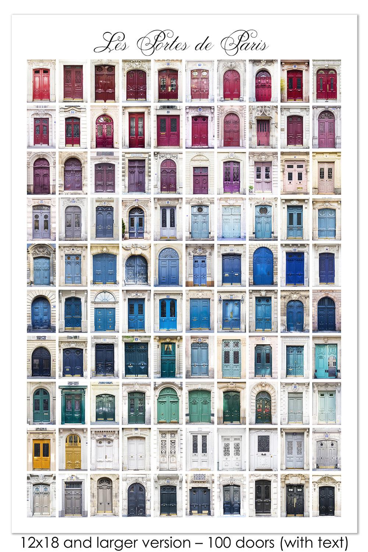 Les Portes de Paris Color Print  sc 1 st  Parisian Moments & Les Portes de Paris Color Print u2014 Parisian Moments