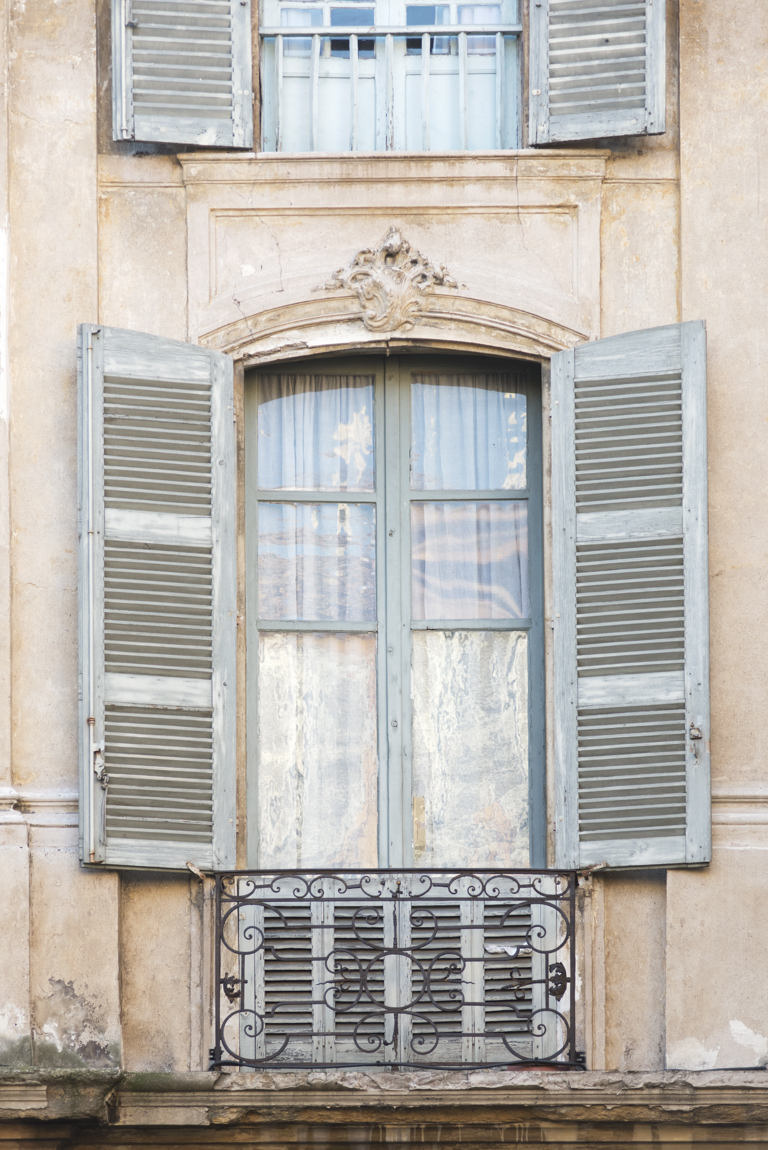Window and Shutters in Aix-en-Provence